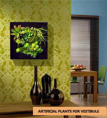 Great interior fake plants decoration with hedge plants for Artificial plants for interior decoration