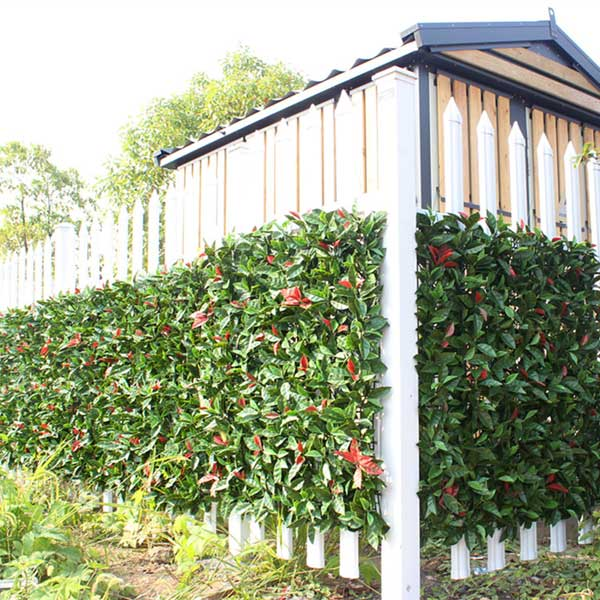 What should be known before installing artificial hedges?