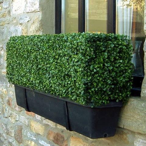 Artificial Freestanding hedges in through for easy privacy&barrier