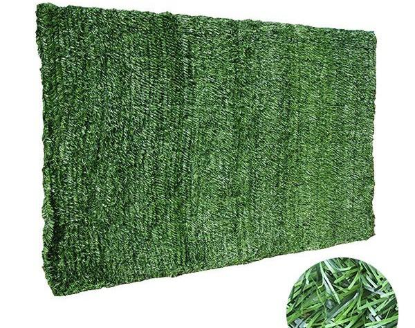 Get your privacy screen green with artificial grass fence rolls