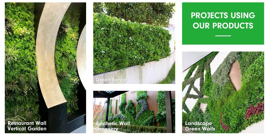 Natural, practical but easy landscape with SUNWING artificial hedges source