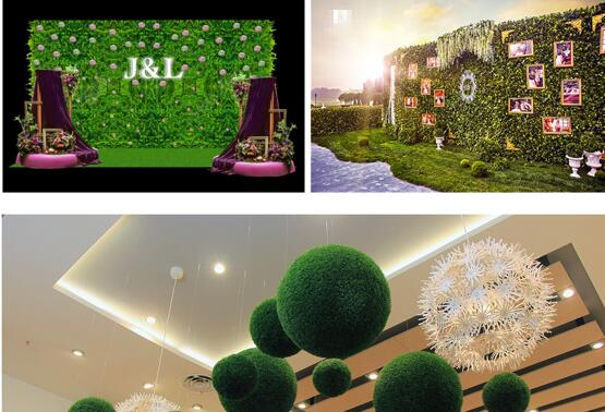 Top 2 must-haves on Your Event Décor Necessity checklists - Green Wall and Topiary Balls