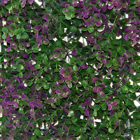 Artificial Landscape Leaves Hedge G0602A006purple
