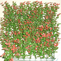Artificial Landscape Leaves Hedge G0602A006red