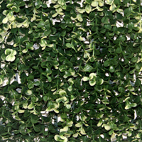 Artificial Landscape Leaves Hedge G0602A006white