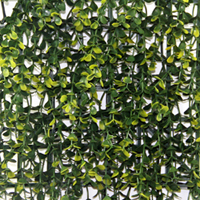 Artificial Landscape Leaves Hedge G0602A006yellow